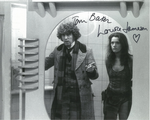 Tom Baker, Louise Jameson  -  Multi signed original autograph not a copy 10270